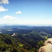 女体山からのパノラマ