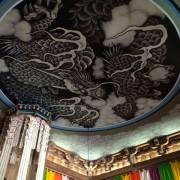 建長寺法堂 雲龍の天井図